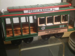 Old tram toy