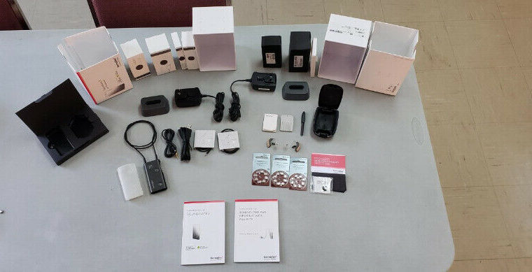 Hearing Aide Complete Kit.