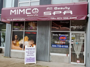 ☘️Body Scrub ☘️ Massage ☘️Waxing☘️【410 E. Broadway】