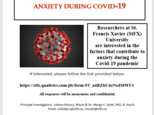 Wanted: Anxiety During COVID-19