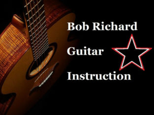 Guitar Lessons, on-line. All styles, beginner to Advanced.