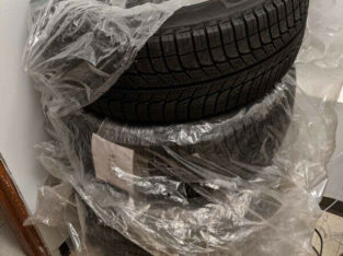 MICHELIN M+S SNOW TIRES BRAND NEW NEVER INSTALLED 215/55R16
