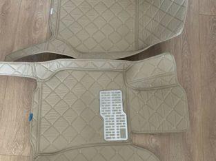Brand new car front floor mats for Mercedes benz C-class