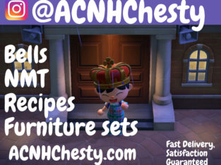 Looking for Animal Crossing Items? ACNHChesty has got you. Bells
