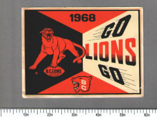 Wanted: Wanted to Buy: BC Lions decals / stickers