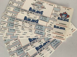 Wanted: Blue Jays Tickets/ Stubs Wanted