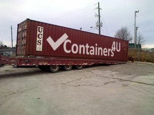 40ft HighCube Sea Cans-Shipping and Storage Containers Available