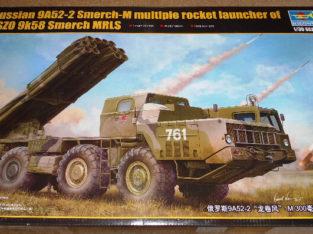 Trumpeter 1/35 Russian 9A52-2 Smerch-M multiple rocket launcher