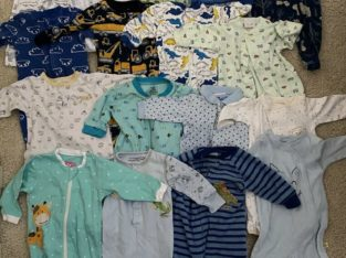 HUGE 0-3 MONTH BABY BOY LOT