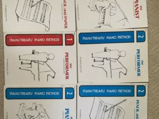 Mainstreams Piano Method Books