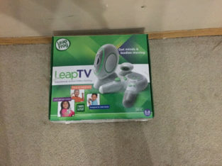 """""""Leap Frog"""" Leap TV Video Game – $60"""