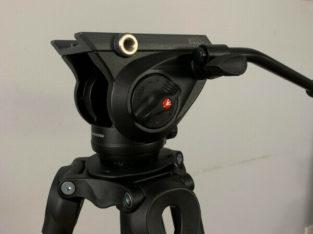 Manfrotto MVH500A Fluid Drag Video Head + MVT502AM Tripod