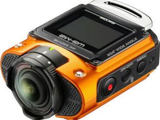 RICOH UHD 4K Action Video Camera 1.5-Inch LCD Orange WG-M2 New