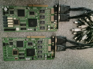 Viewgate 32 Channel Security Camera Video Card Set