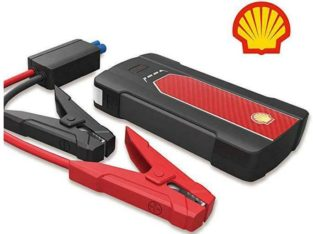 New SHELL SMART JUMP STARTER – EMERGENCY POWER PACK — USB POWER BANK — IDEAL FOR TRAVEL AND STORM SURVIVAL!