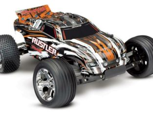 Traxxas R/C RUSTLER: 1/10 SCALE STADIUM TRUCK at unbeatable price, available now!