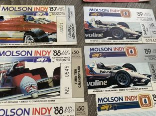 Indycar, CART, CHAMP CAR, Grand Prix Toronto 1980's Tickets
