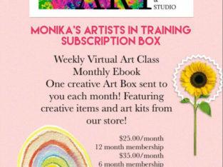 Art In A Box Membership