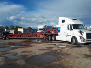 Vehicle shipping Canada Wide Have Truck in Bc loading for Ab,Sk.