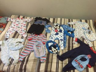 Baby clothes and bibs