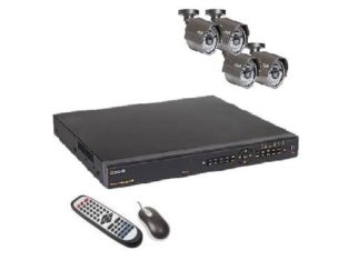 Q-SEE 8-Channel H.264 D1 DVR w/ 1TB HDD, 4 IR Camera & Accessory