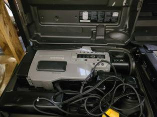 2 x Panasonic AG 196 Video Cameras/VCRs