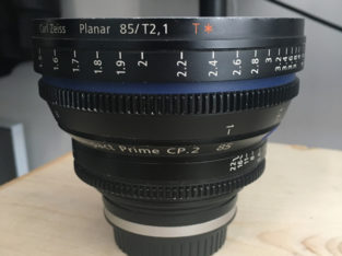 Zeiss Compact Prime CP.2 85mm/T2.1 Cine Lens