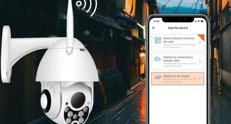 Protect your Property !!! Elite PTZ 360 1080P WIFI AI Human Detection Free Shipping !!!