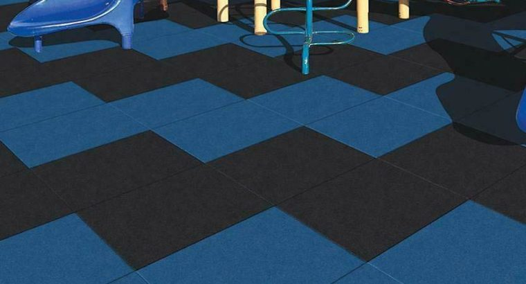 Rubber tiles designed for deck, patio and backyard play spaces ON SALE NOW