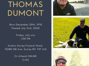 In Memory of Thomas Dumont