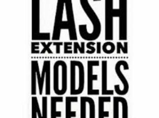 Lash extension models needed!