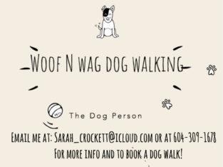 Woof N Wag Dog Walking