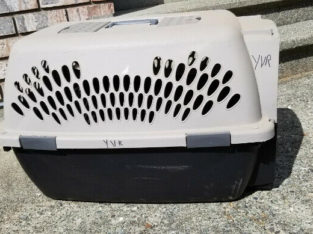 Giant dog kennel – airline approved – $70