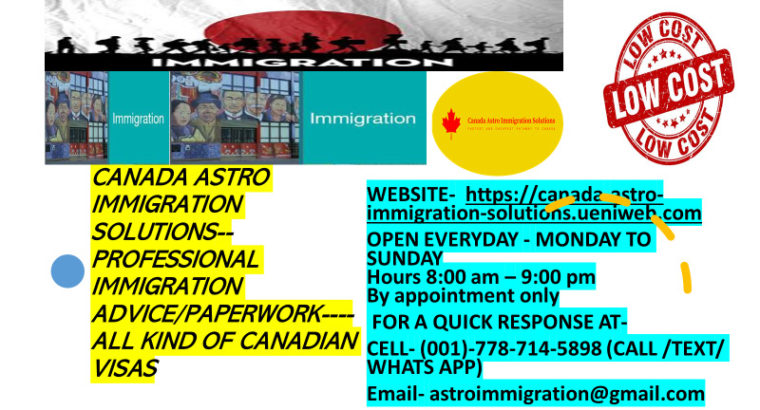 HELP PROVIDED IN IMMIGRATION MATTER-SPOUSAL VISA-CALL-7787145898