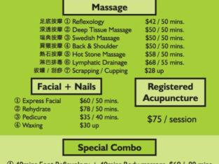 Deep tissue massage,Foot Reflexology ,relaxation massage,pedicur
