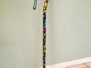 Walking cane with pretty butterfly pattern from Shoppers.