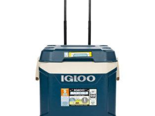 IGLOO – MAXCOLD – 58 LITRE / 62 QUART – ROLLING COOLER