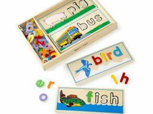 Melissa & Doug See & Spell Learning ABC's & Spelling Development