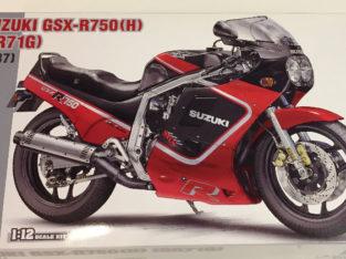 Hasegawa 1/12 Suzuki GSX-R750 1987 (H) (GR71G)