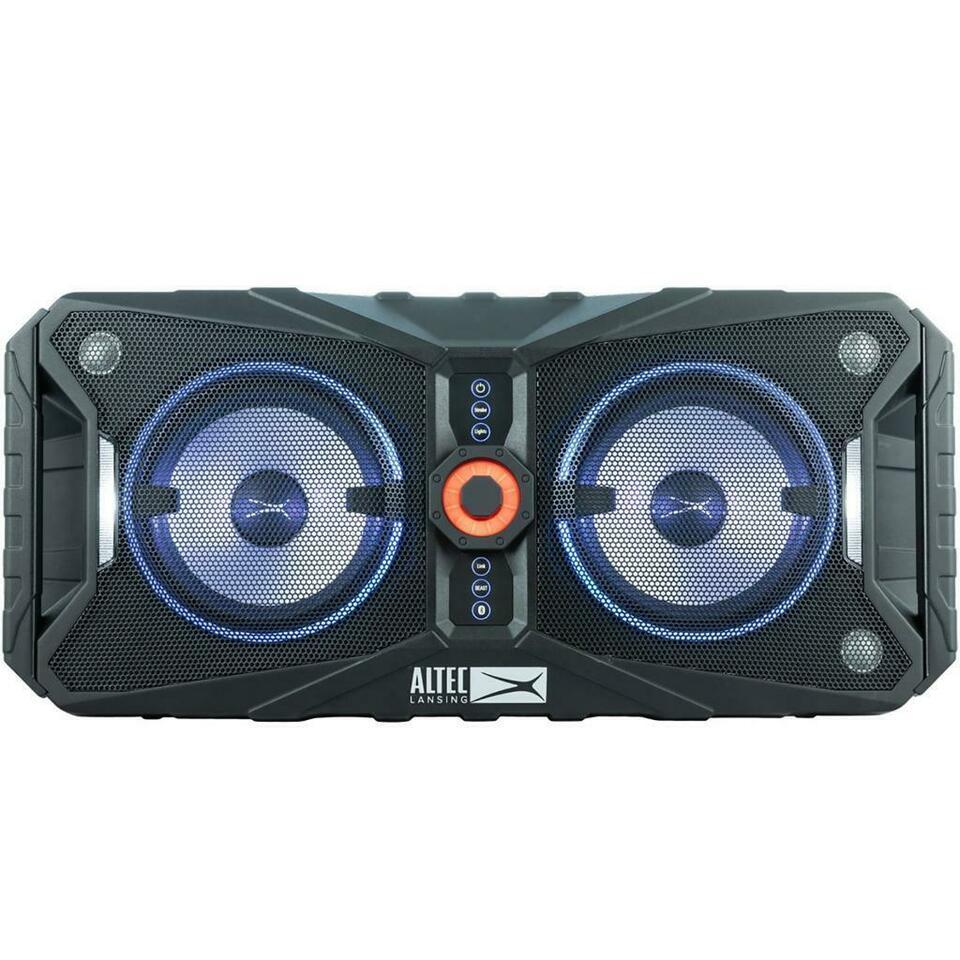 Altec Lansing ALP-XP850 Xpedition 8 Portable Waterproof Bluetooth Indoor/Outdoor Speaker