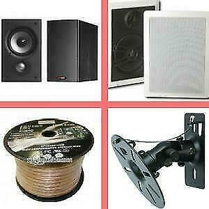 Weekly Promotion ! 50% off for some Speakers! In Wall/ceiling,Surround Speakers, outdoor Speakers, Speaker Cable,