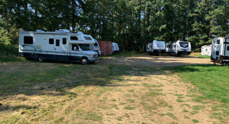 Outdoor Storage – RVs, Trailers, Boats, Containers
