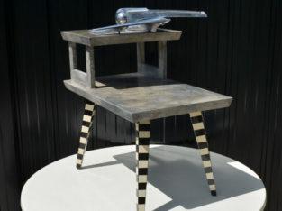 Ultra Rare Linda Varro One-of-a-Kind Art Table