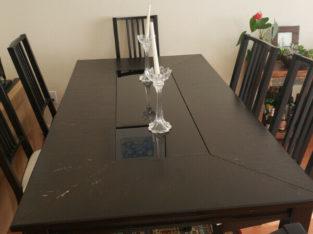 6 seating dinning table near Metrotown, Burnaby