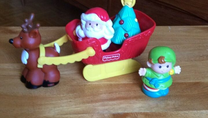 Wanted: FISHER PRICE LITTLE PEOPLE SANTA SET