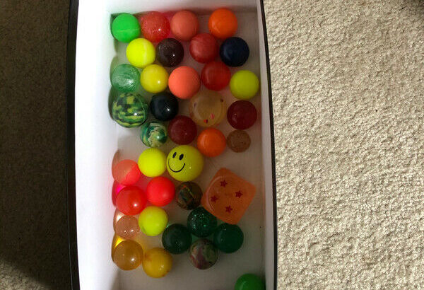 $5 only for 40 rubber balls see pics Burnaby pick up highgate
