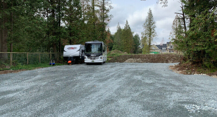 RV/Motorhome/Trailer/Vehicle Parking for rent