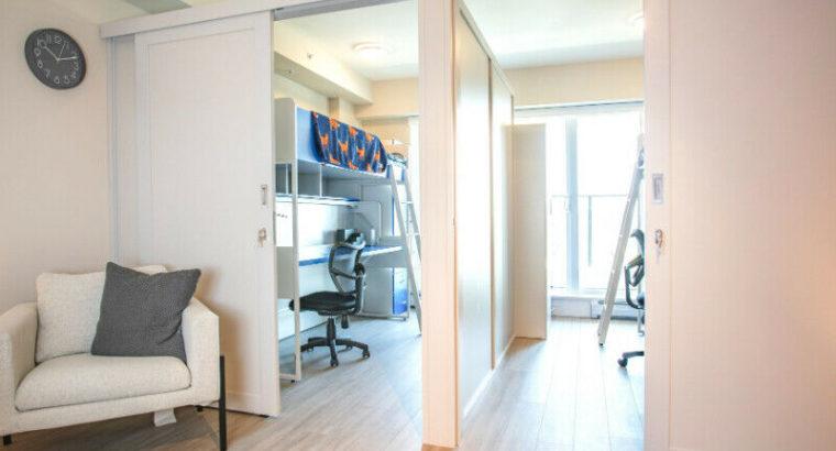 Sectioned Studio Near Oakridge. Furnished w/ Utilities + Parking