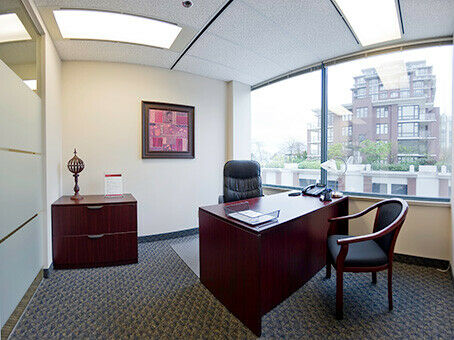 Work your way in a private office just for you.