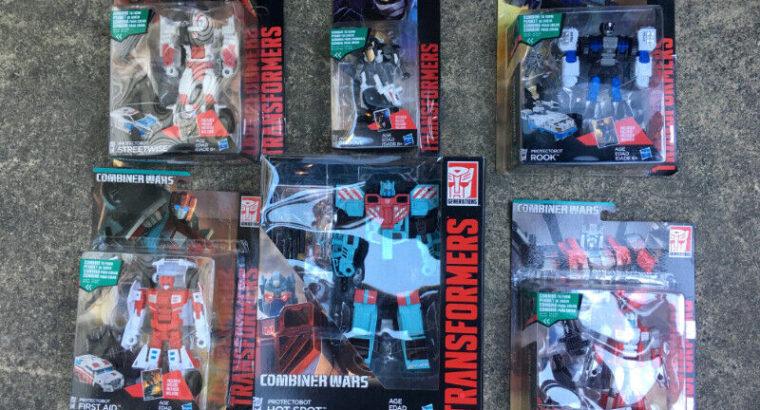 Transformers Generations Combiner Wars Defensor ( SET OF 6 )